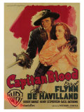 Captain Blood  Italian Movie Poster  1935