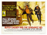 Butch Cassidy and the Sundance Kid  UK Movie Poster  1969