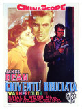 Rebel Without a Cause  Italian Movie Poster  1955