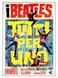 A Hard Day&#39;s Night  Italian Movie Poster  1964