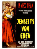 East of Eden  German Movie Poster  1955