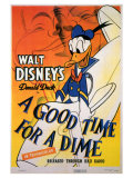 A Good Time for a Dime, 1941 Reproduction d'art