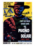 A Fistful of Dollars  Italian Movie Poster  1964