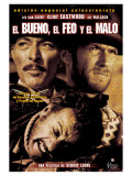 The Good  The Bad and The Ugly  Spanish Movie Poster  1966