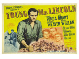 Young Mr Lincoln  UK Movie Poster  1939