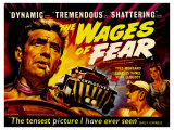 Wages of Fear  UK Movie Poster  1953