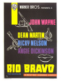 Rio Bravo  Spanish Movie Poster  1959