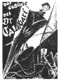 The Cabinet of Dr Caligari  German Movie Poster  1919