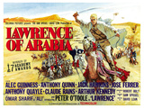 Lawrence of Arabia  UK Movie Poster  1963