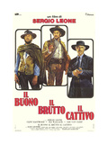 The Good  The Bad and The Ugly  Italian Movie Poster  1966