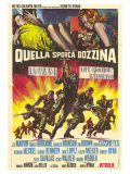 The Dirty Dozen  Italian Movie Poster  1967