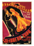 Top Hat  Spanish Movie Poster  1935