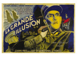 Grande Illusion  French Movie Poster  1937