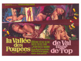 Valley of the Dolls  Belgian Movie Poster  1967