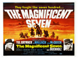The Magnificent Seven  UK Movie Poster  1960