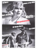 The Misfits  German Movie Poster  1961
