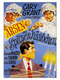 Arsenic and Old Lace  German Movie Poster  1944
