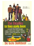 Yellow Submarine  French Movie Poster  1968