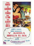 The Sun Also Rises  Argentine Movie Poster  1957