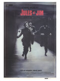 Jules and Jim  Spanish Movie Poster  1961