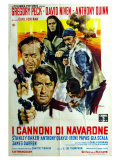The Guns of Navarone  Italian Movie Poster  1961