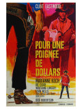 A Fistful of Dollars  French Movie Poster  1964