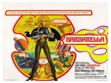 Barbarella  UK Movie Poster  1967
