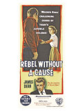 Rebel Without a Cause  Australian Movie Poster  1955