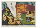 The Day Mars Invaded Earth  UK Movie Poster  1962