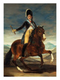 Ferdinand VII on Horseback