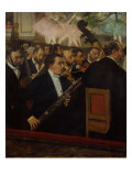 L'orchestre de l'Opera (The Orchestra of the Opera)  c 1870
