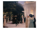 A Soiree at Pre-Catelan  detail  1909