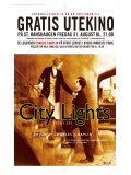 City Lights  Norwegian Movie Poster  1931
