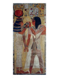Goddess Hathor and King Sethi I