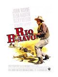 Rio Bravo  German Movie Poster  1959