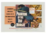 Phantom of the Rue Morgue  UK Movie Poster  1954