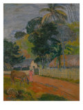Tahitian Landscape  1899