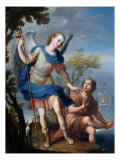 The Arcangel Raphael and Tobias