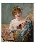 Portrait of a Woman with Fan  1879