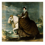Equestrian Portrait of Isabella of Bourbon