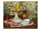 Still Life with Fruit Dish and Cup