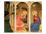 Cortona Altarpiece with the Annunciation, without predellas Giclée par Fra Angelico