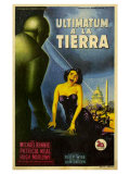 The Day The Earth Stood Still  Italian Movie Poster  1951