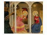Cortona Altarpiece with the Annunciation Giclée par Fra Angelico