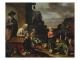 Peasants at the Well