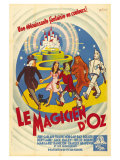 The Wizard of Oz  French Movie Poster  1939