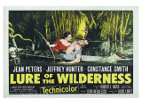 Lure of the Wilderness  UK Movie Poster  1952