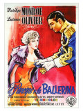 The Prince and the Showgirl  Italian Movie Poster  1957