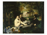 Le Dejeuner sur l'herbe (Luncheon on the Grass)  1863
