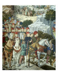 Procession of the Magi: Wall with Lorenzo  detail (Procession with Members of the Medici Family)